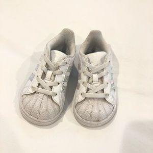 adidas Toddler Superstar Shoes US7